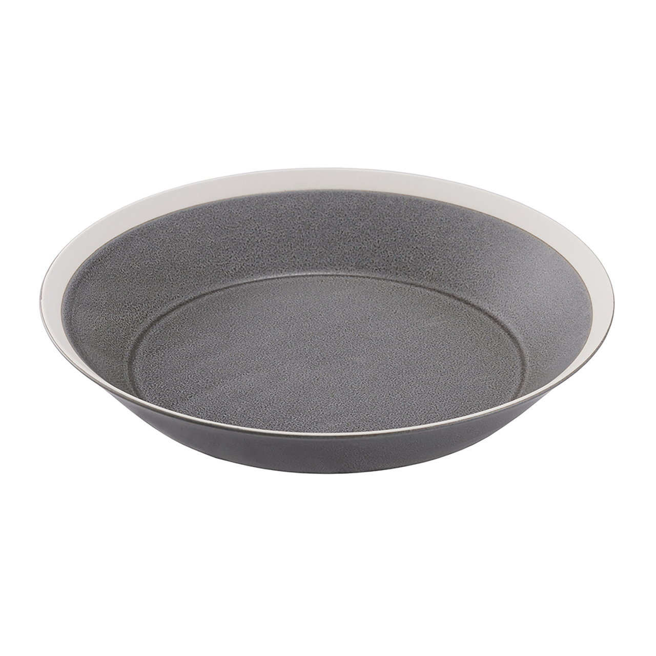 yumiko iihoshi porcelain(ユミコイイホシポーセリン)×木村硝子店 dishes 230 plate (moss gray) /matte  プレート 皿 23cm 日本製 255268