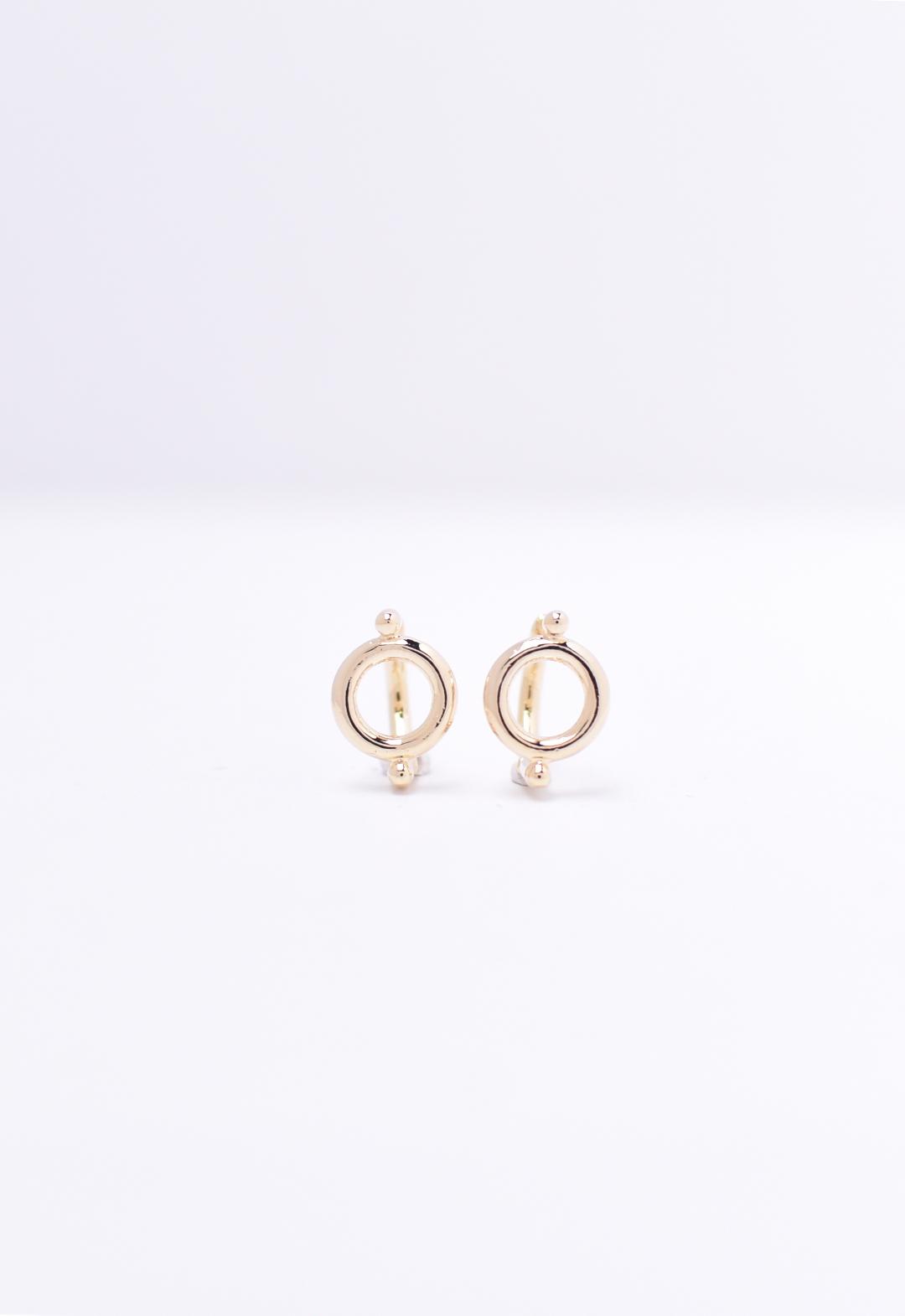 circle pierce /gold