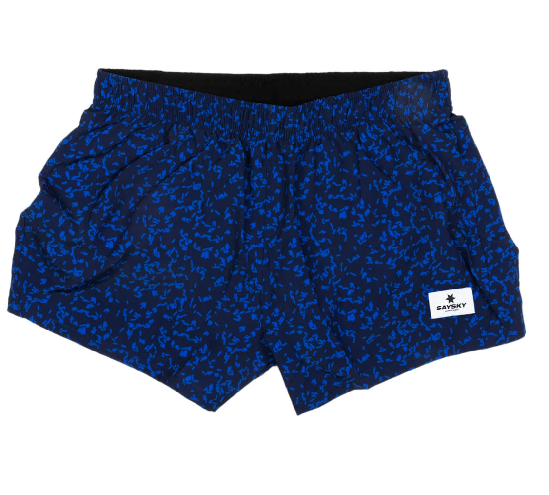 【10%OFF】SAYSKY セイスカイ ランニングショーツ  Wmns FTP Pace Shorts - BLUE MICROBES PRINT [レディーズ] FGRSH03