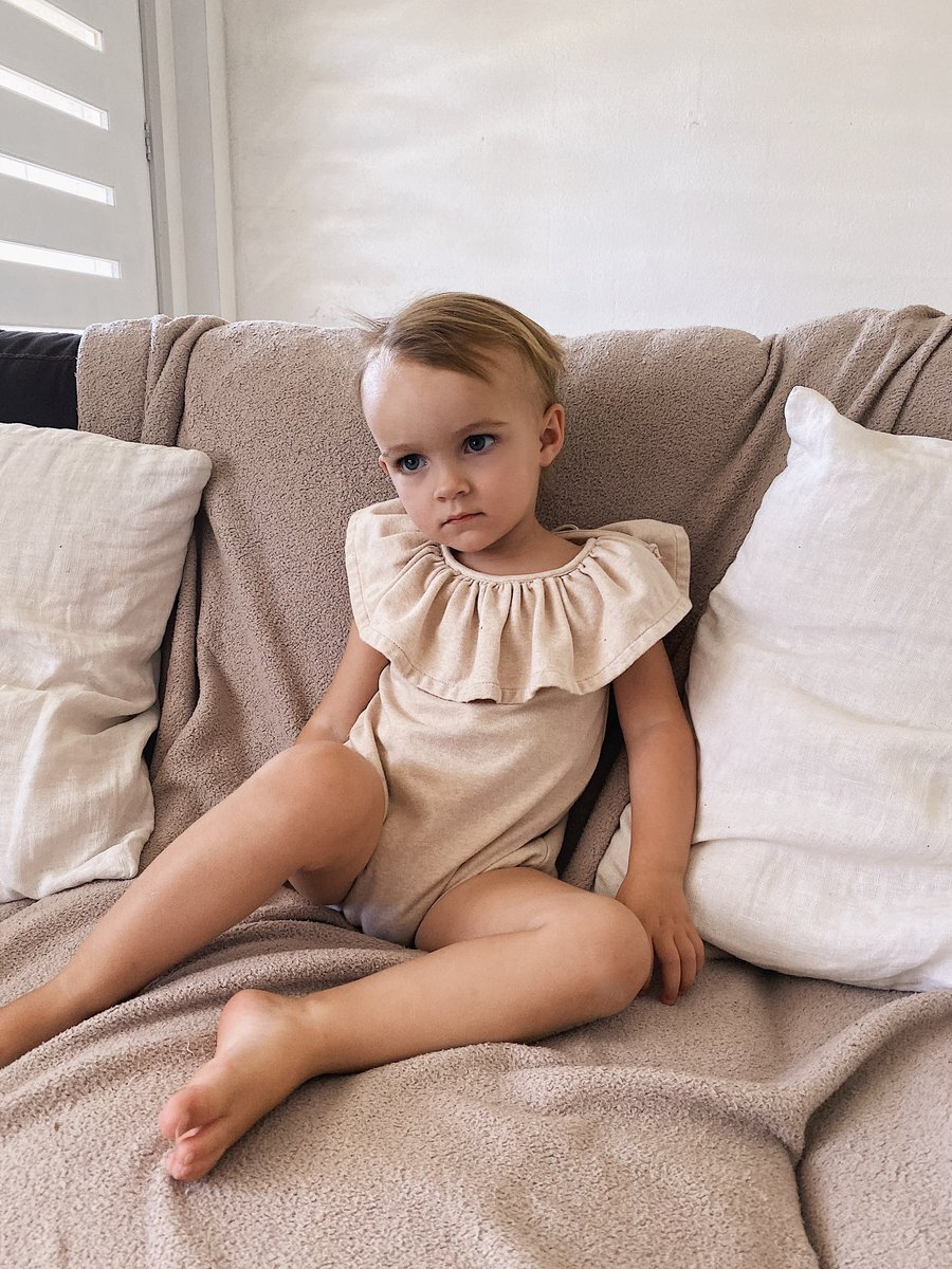 Marlow and Mae / Pollen romper