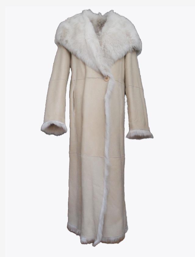 JOSEPH LONG MOUTON COAT