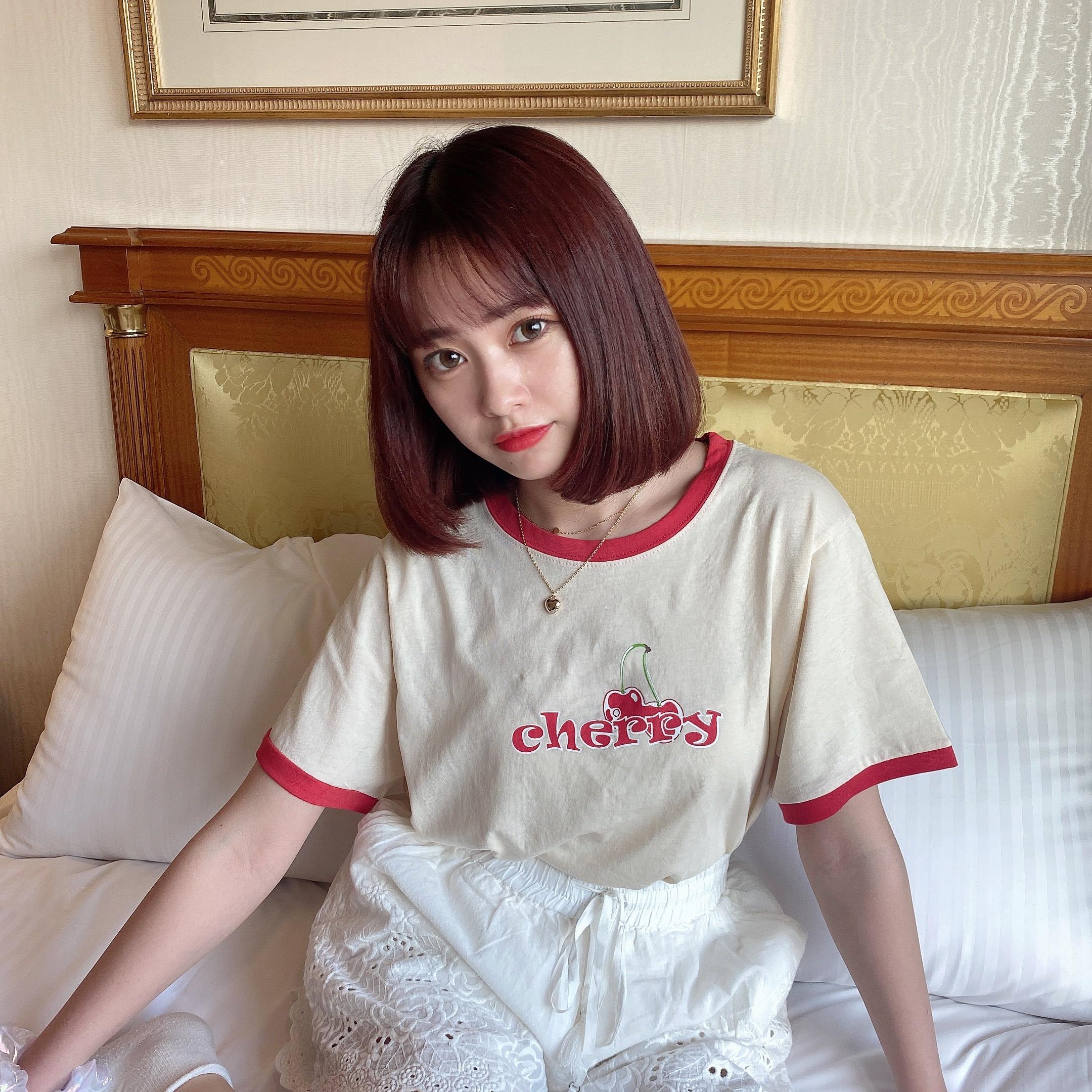 cherry piping T
