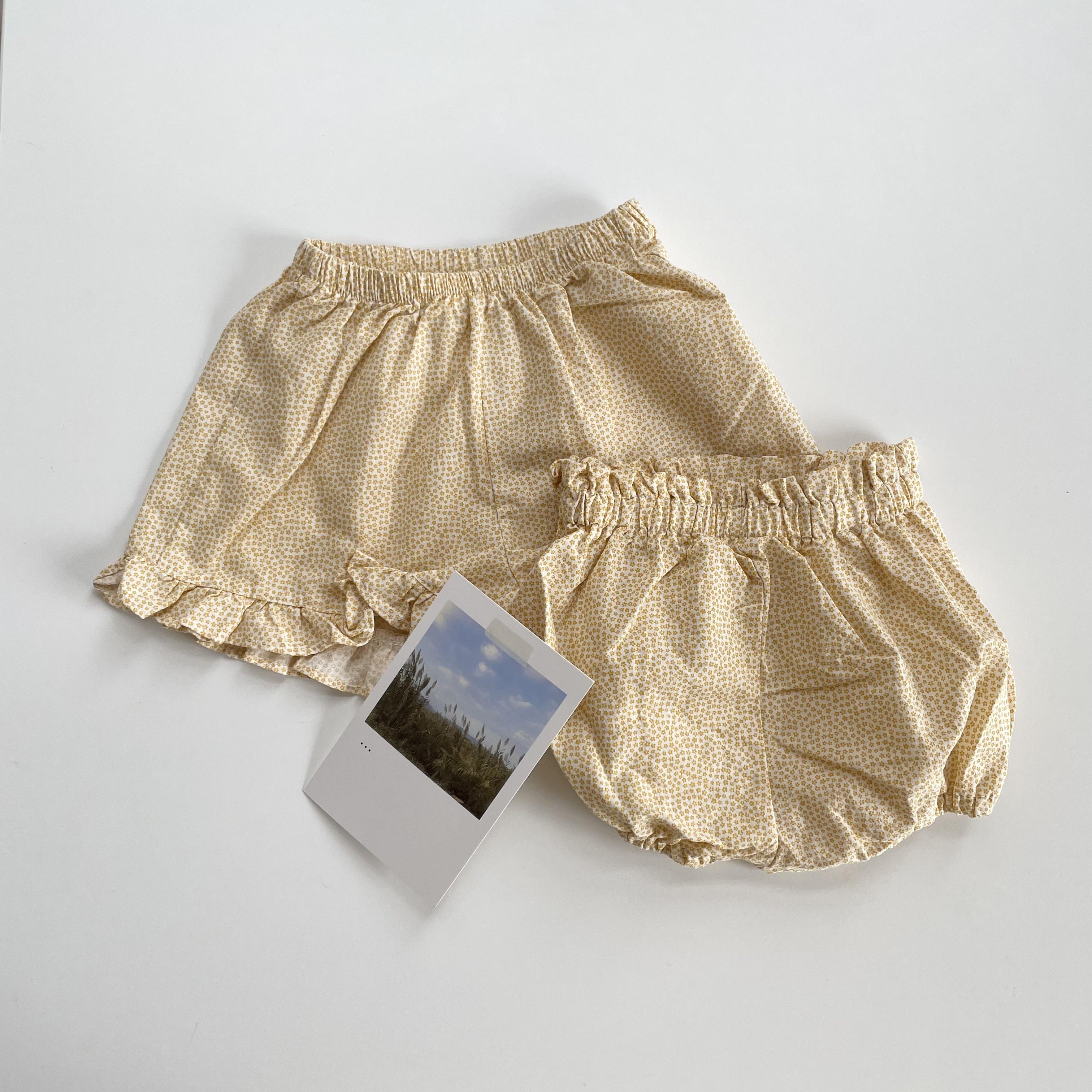 NO.1442. flower frill pants / ALADIN