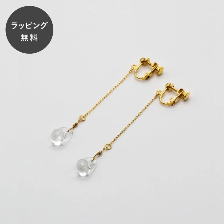 HARIO ハリオ イヤリング ティアーズ aa-0081