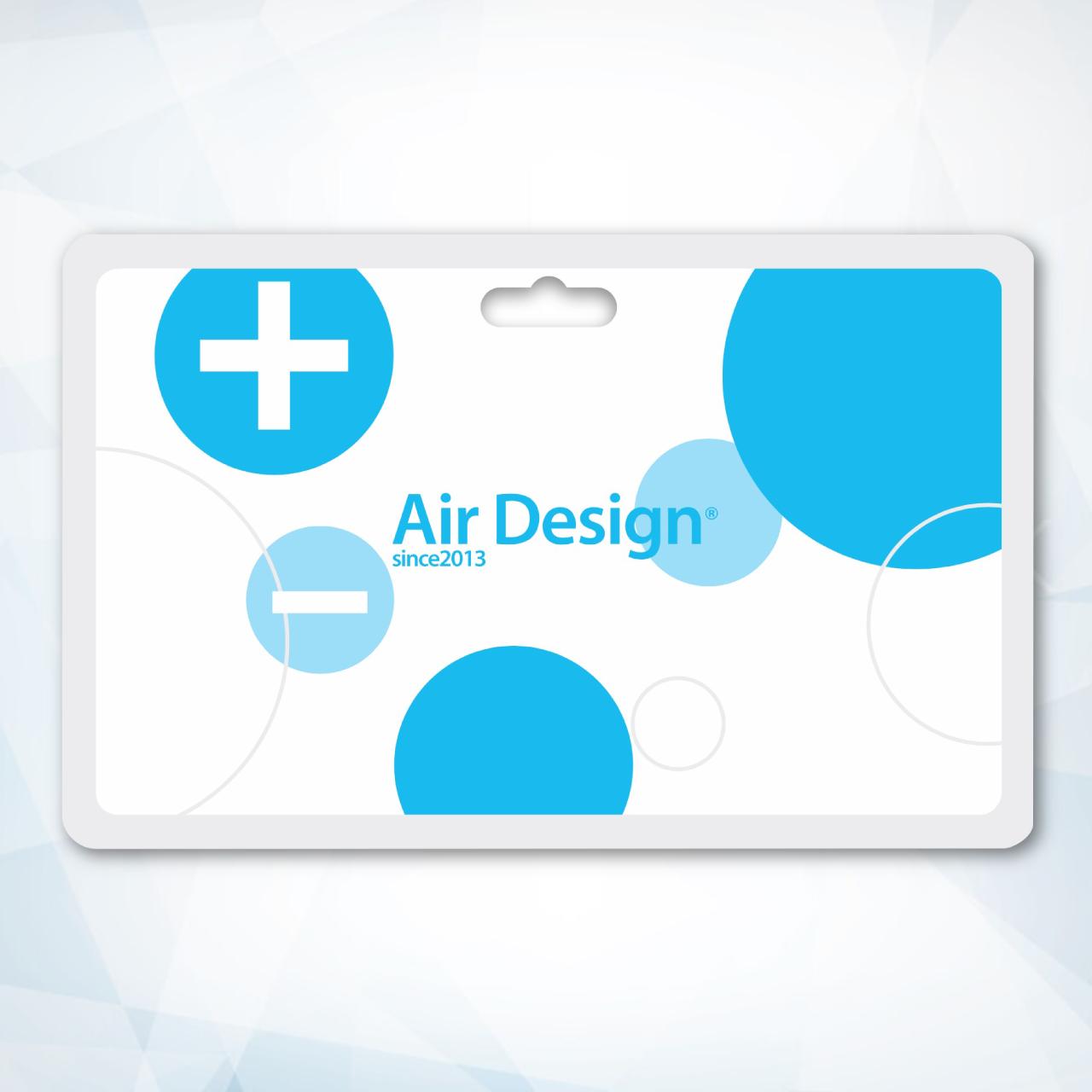 空気清浄・消臭カード エアデザインカード ストラップ付き 1セット