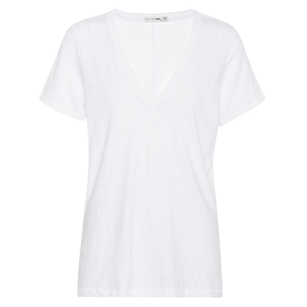 rag&bone  THE VEE   WHITE