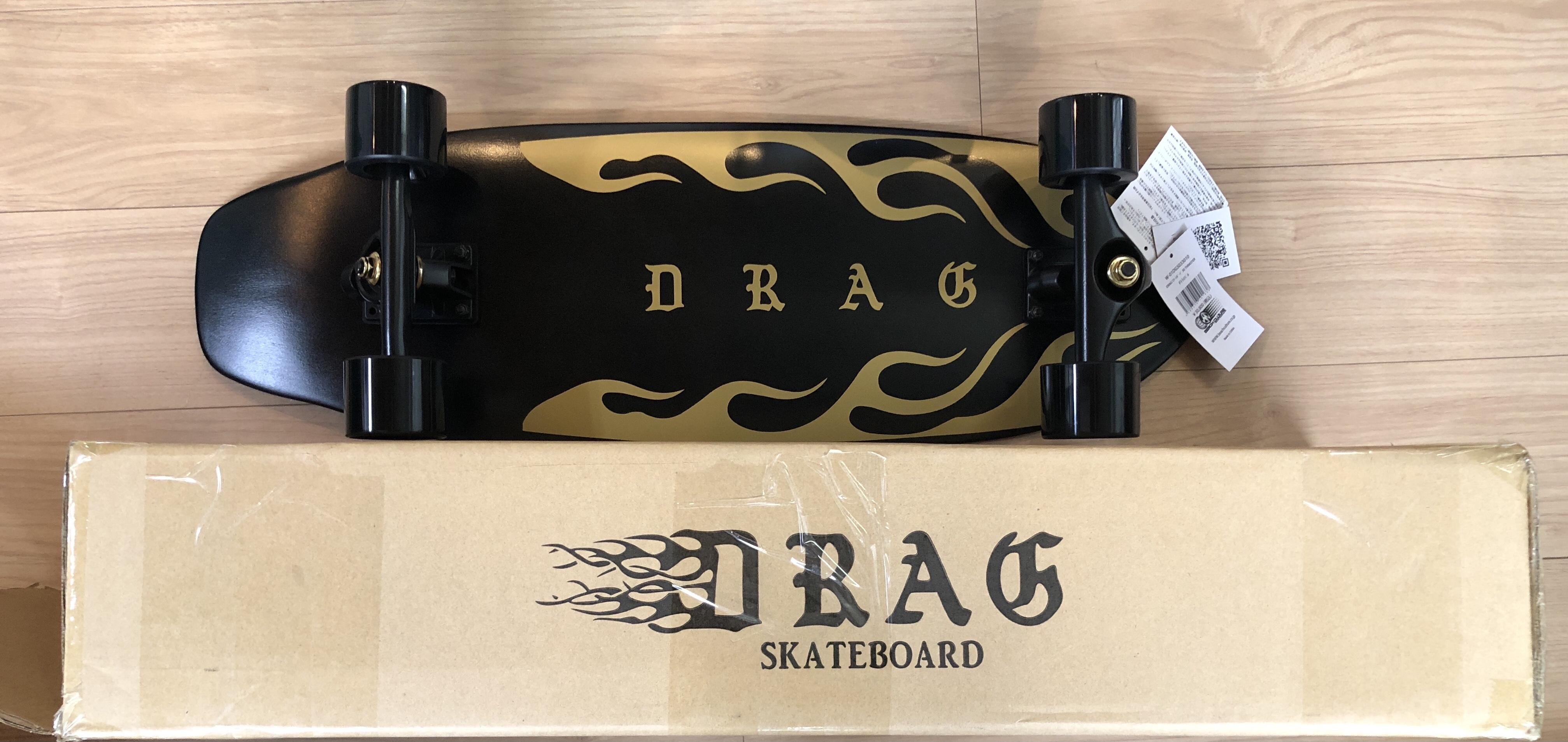 DRAG スケートボード 30 THRASTER(Fトライバル)