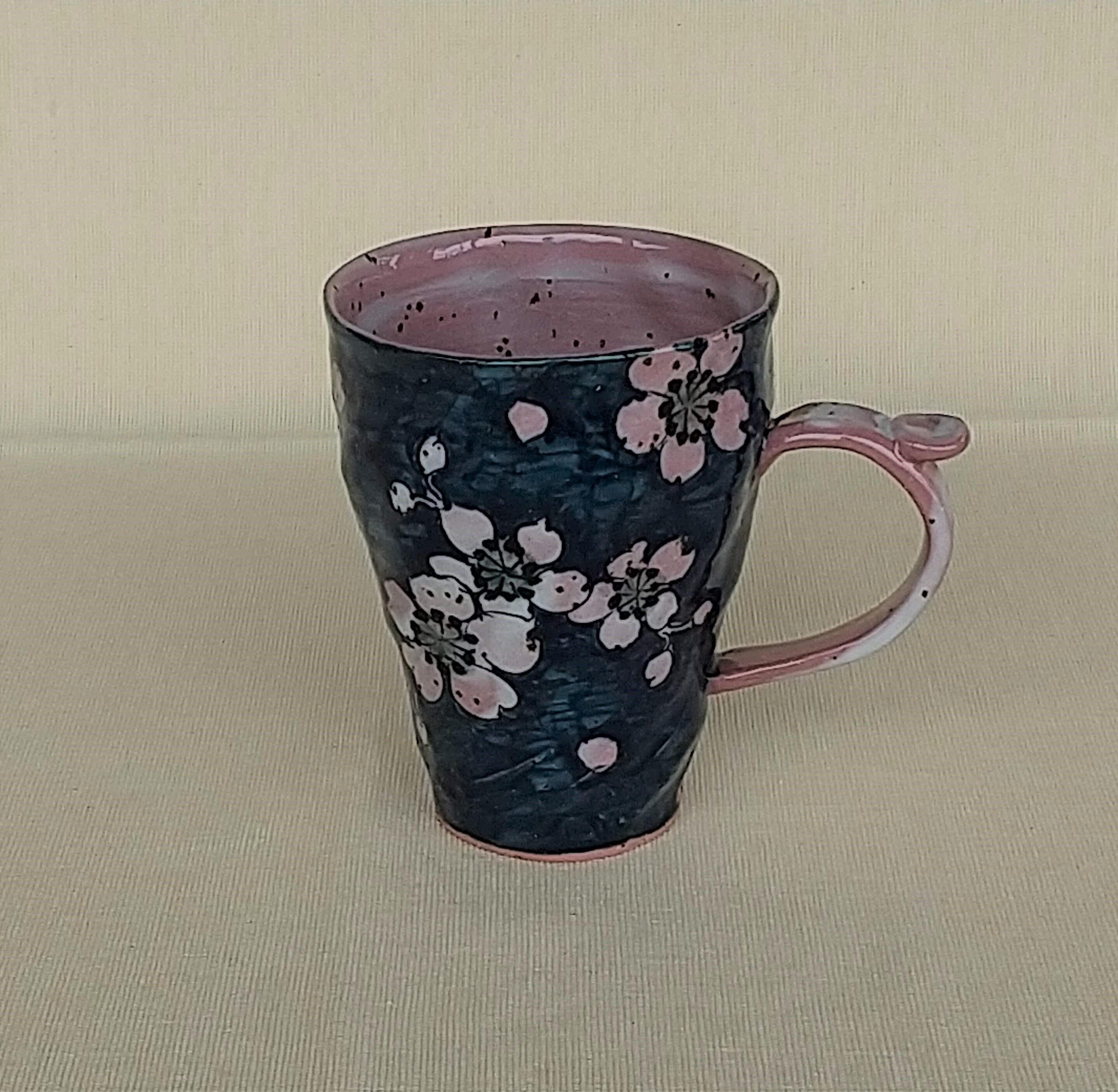 桜窯 濃桜 マグカップ