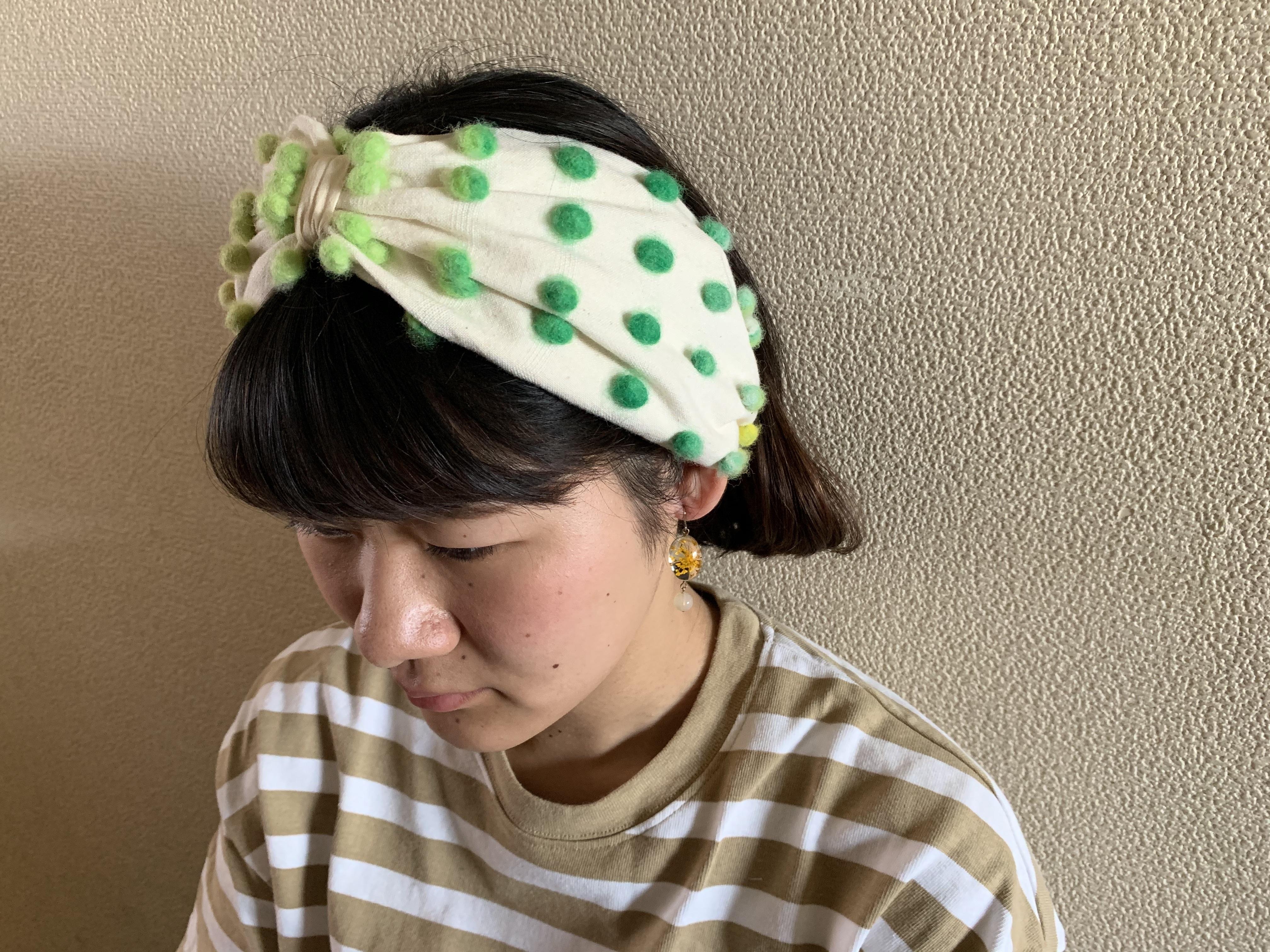 ヘアバンド  /  - colorful - NORO EISAKU