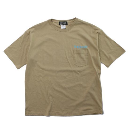 ML LOGO BIG T-SH #BEIGE