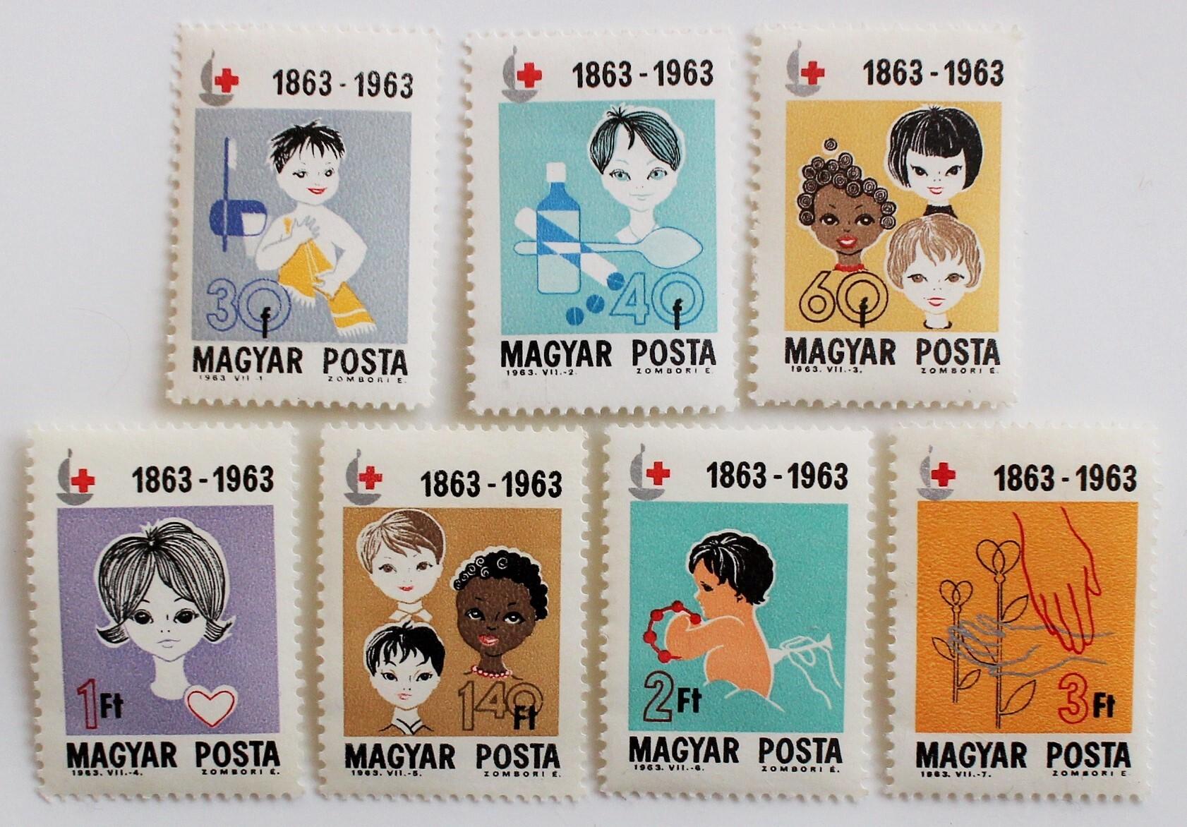 赤十字100年 / ハンガリー 1963
