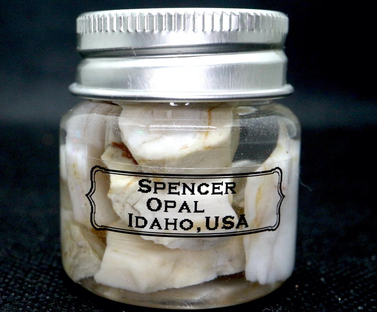 【鉱物セット】スペンサーオパール ボトル 小 瓶詰め #2 SCO054 原石 鉱物 天然石 パワーストーン