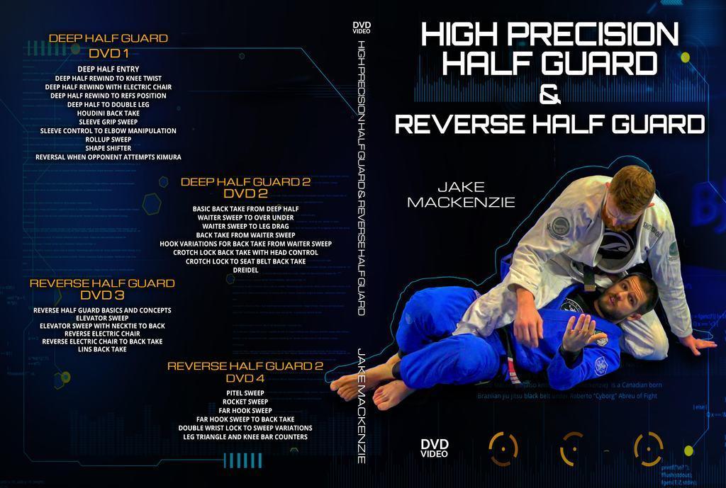 ジェイク・マッケンジー  ハイプレシジョン・ハーフガード&リバース・ハーフガード  VOL.1 ブラジリアン柔術教則DVD