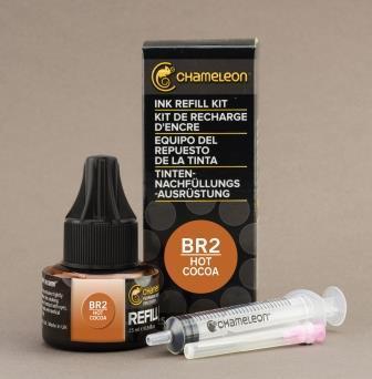 Chameleon Pen Ink Refill 25ml Hot Cocoa BR2 (カメレオンペン 詰替え用インク BR2)