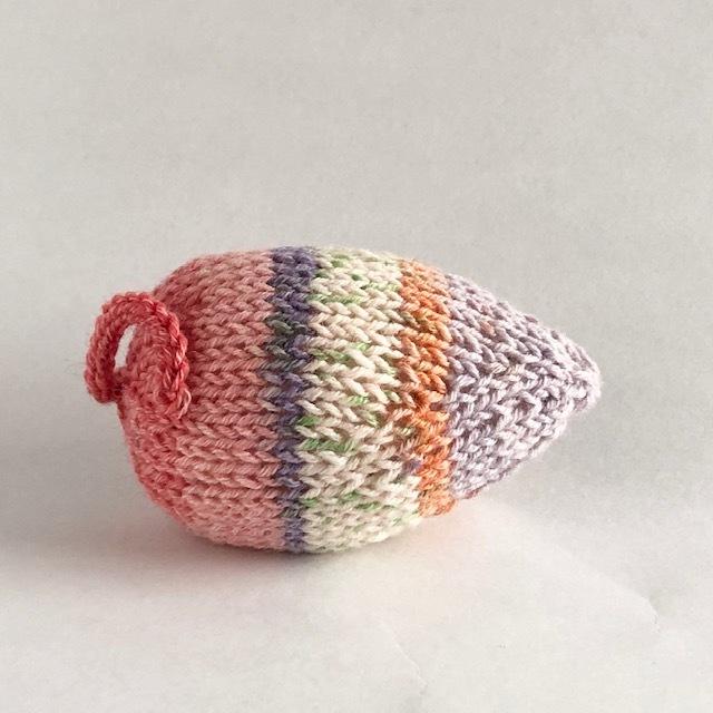 ✦編み図 郵送✦ 棒針編み・ネズミのあみぐるみ