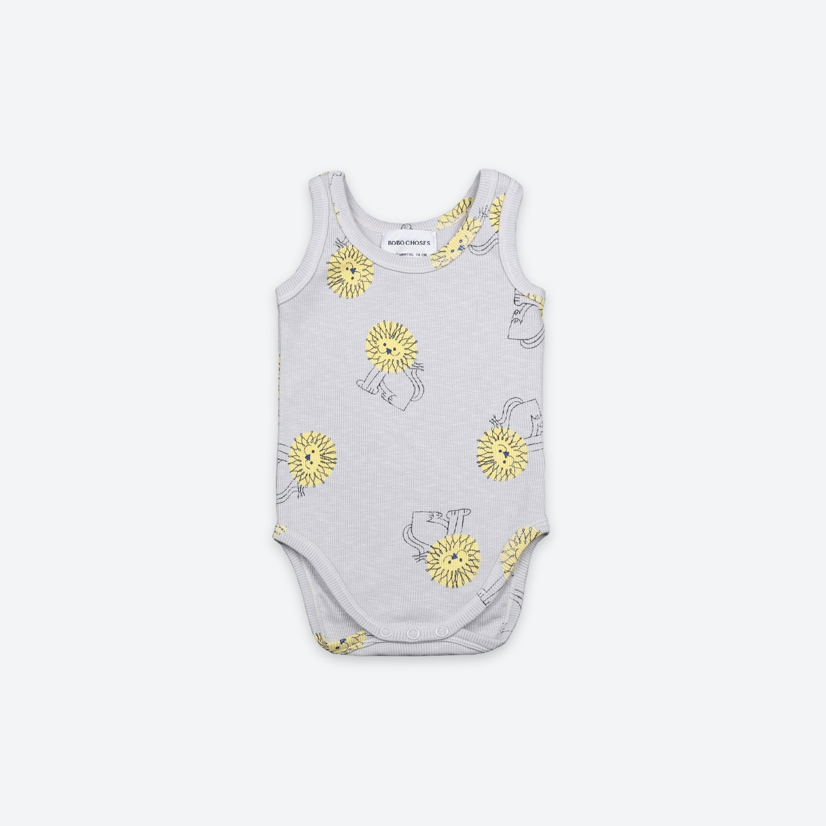 《BOBO CHOSES 2021SS》Pet A Lion sleeveless Body / 6-12M