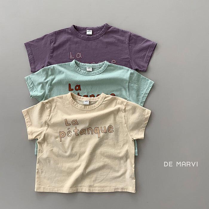 marvi La Petanque Tシャツ キッズ