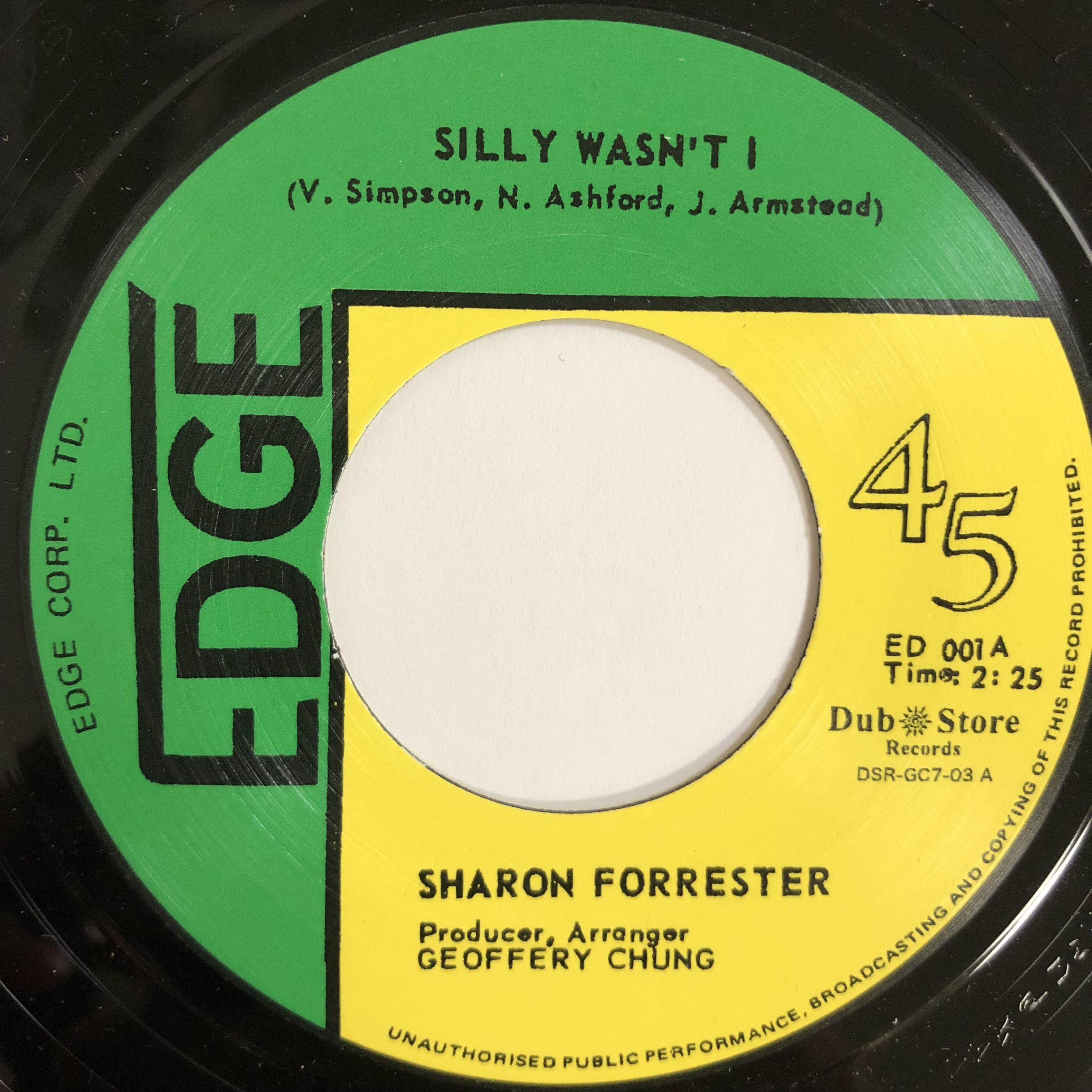 Sharon Forrester(シャロンフォレスター) - Silly Wasn't It【7-20200】