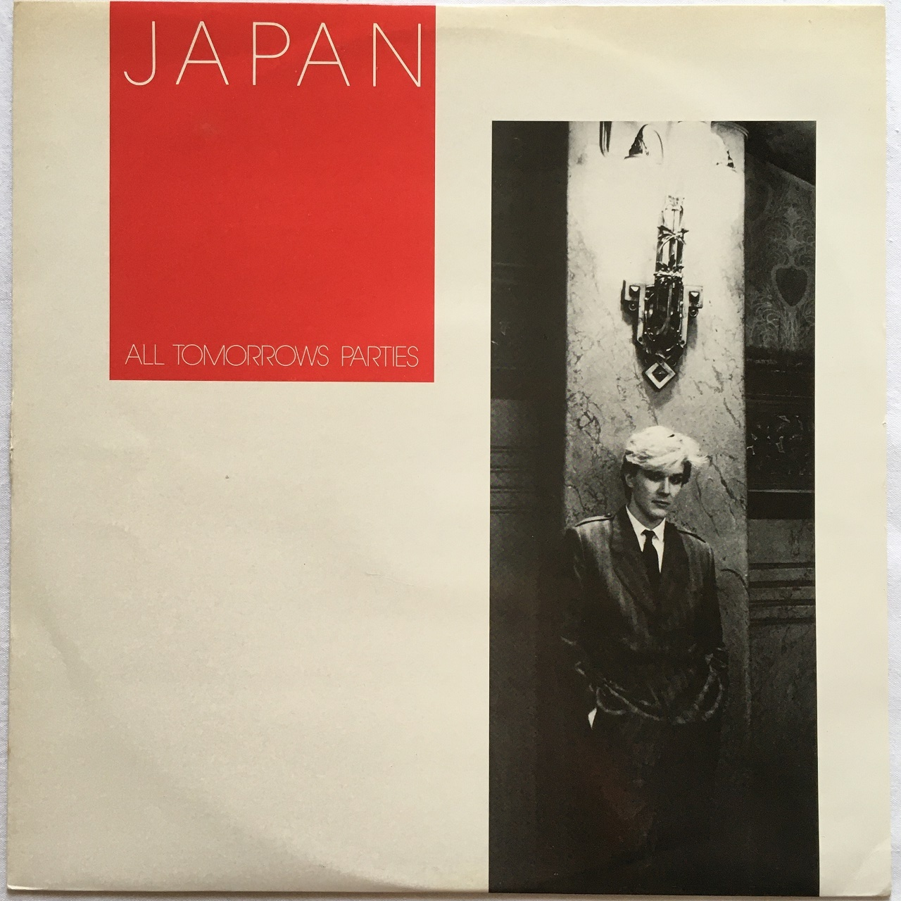 【12inch・英盤】Japan  / ‎ All Tomorrows Parties