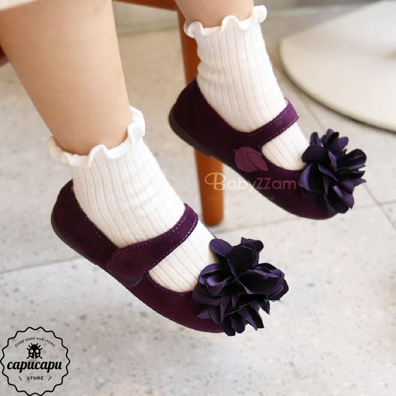 «sold out» purple corsage pumps コサージュパンプス