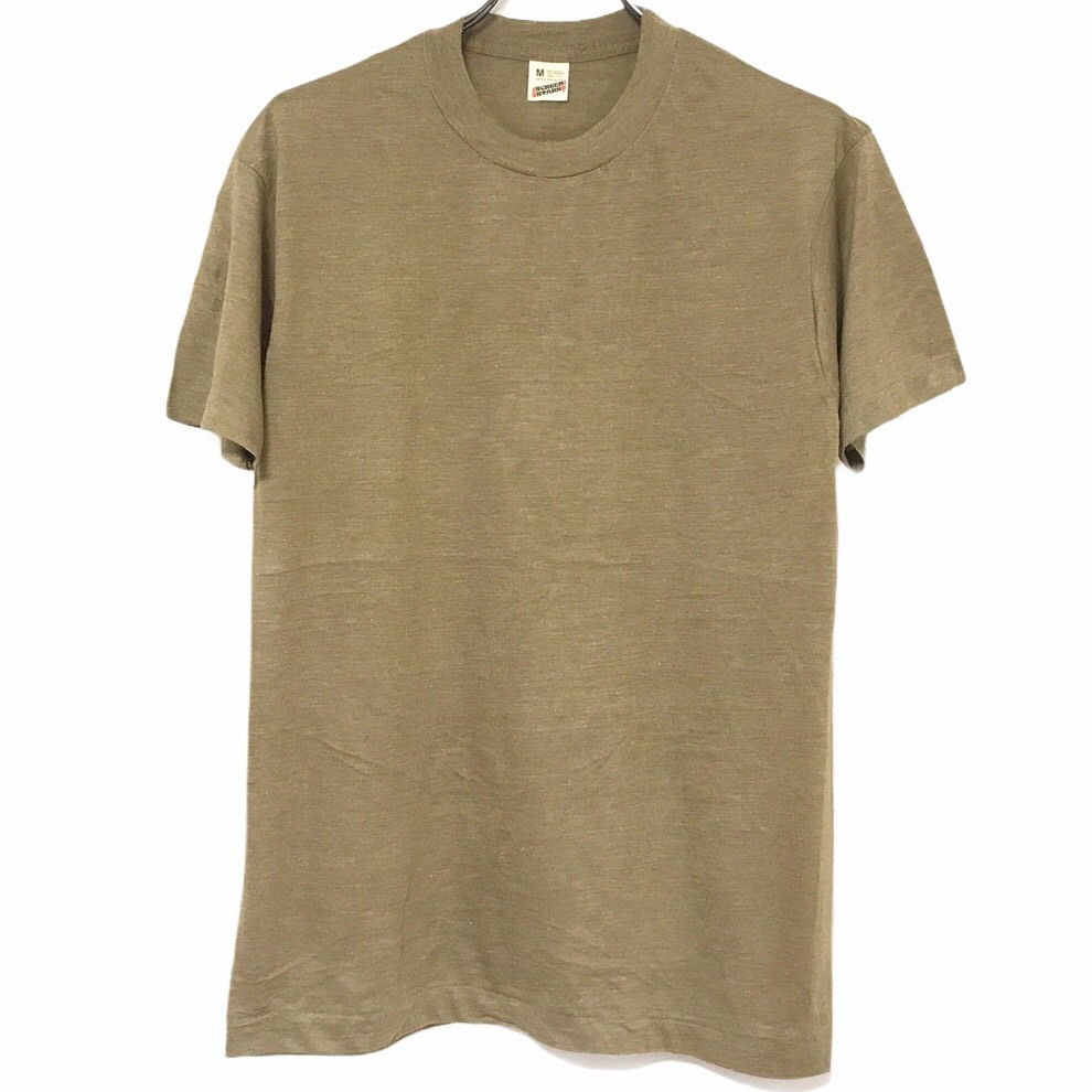 Dead Stock! 80's SCREEN STARS T-shirt made in USA Camel