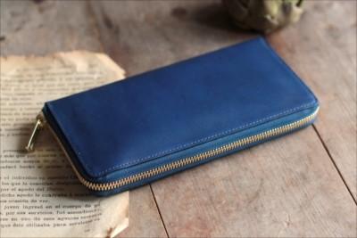 reputable site 705cd b63da 長財布はどれくらいの藍染革を使用しているでしょうか?   BASE Mag.