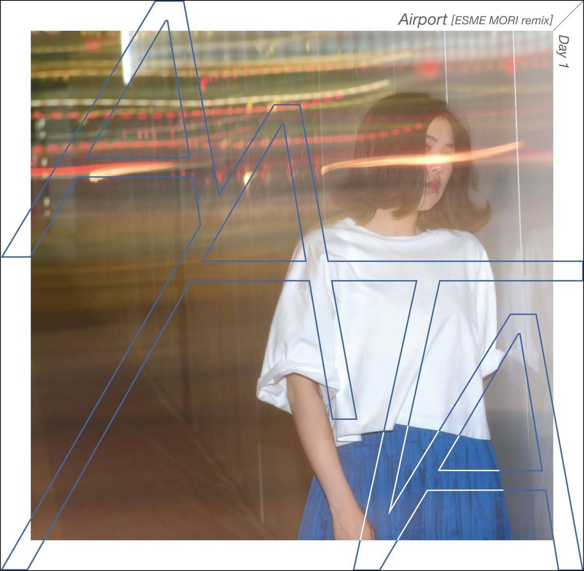 7inch】AATA「Airport (ESME MORI Remix) / Day1」 | AATA / あーた ...