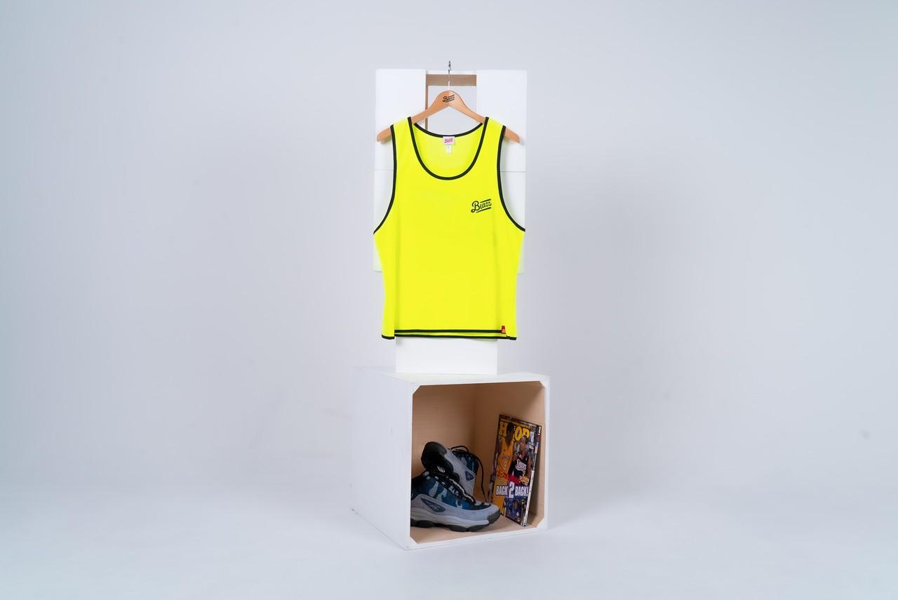 blazz sports bibs 5packs [NEON YELLOW]