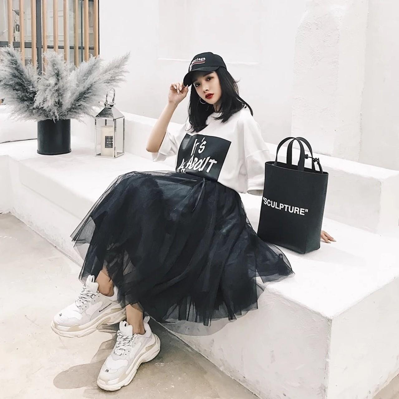 frill cool skirt