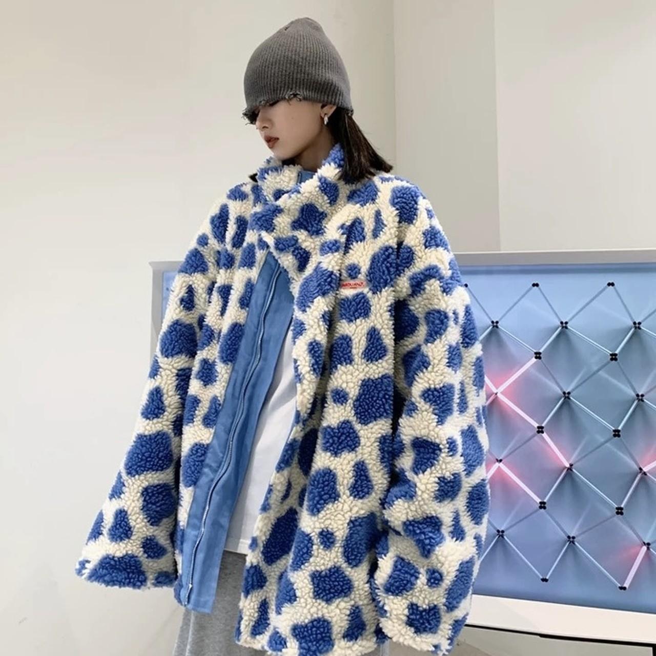 cow design reversible jacket
