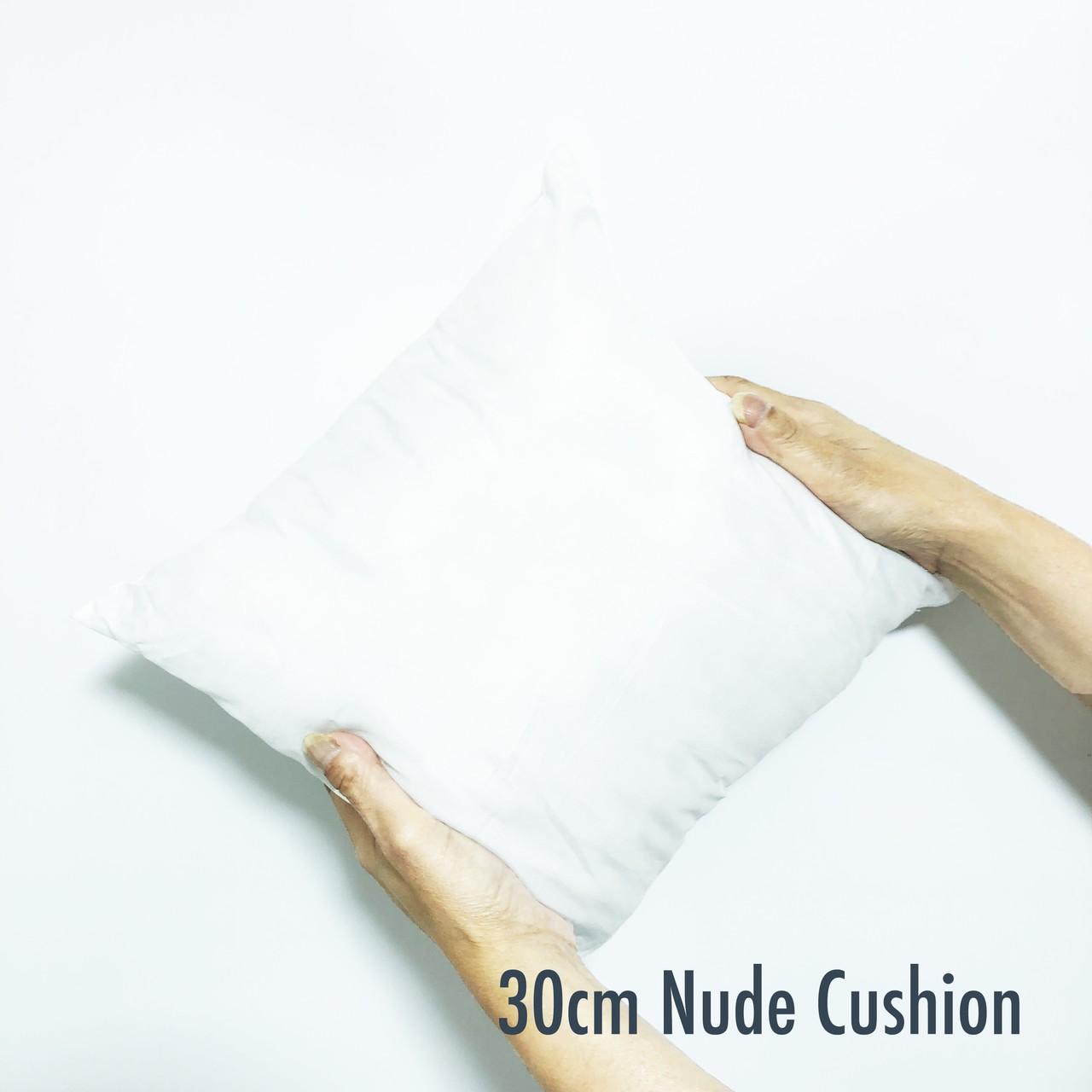 ヌードクッション 30cm 正方形 白 クッション中身