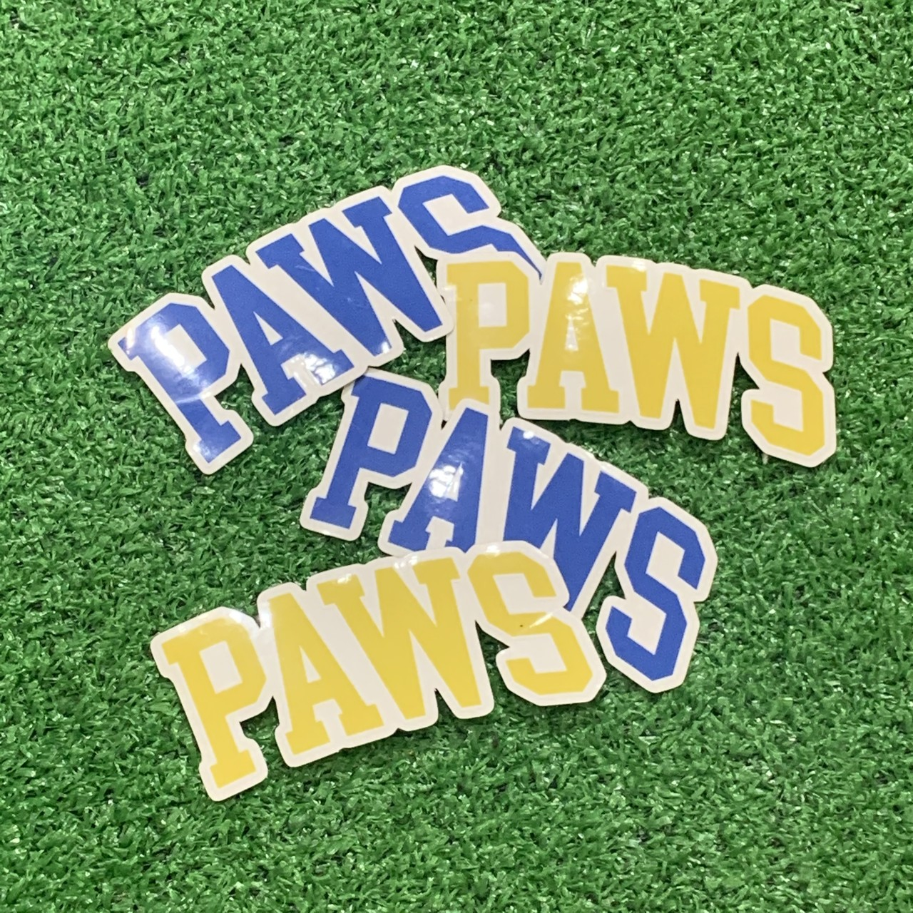 【Cat & Parfum】THE PAWS Clear Sticker