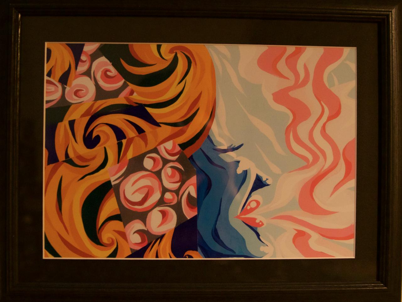 lifeInCollage 'Series'' 『Heaven's Door』BLK×GLD 原画