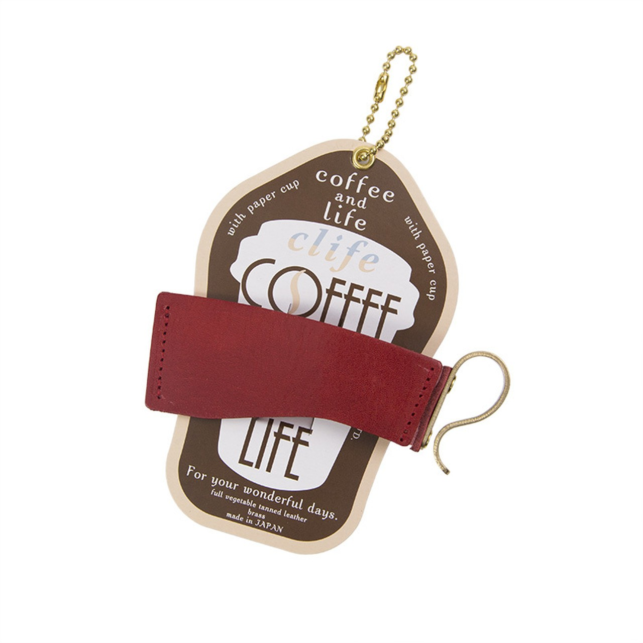 カップホルダー -Clife coffee and life RED-