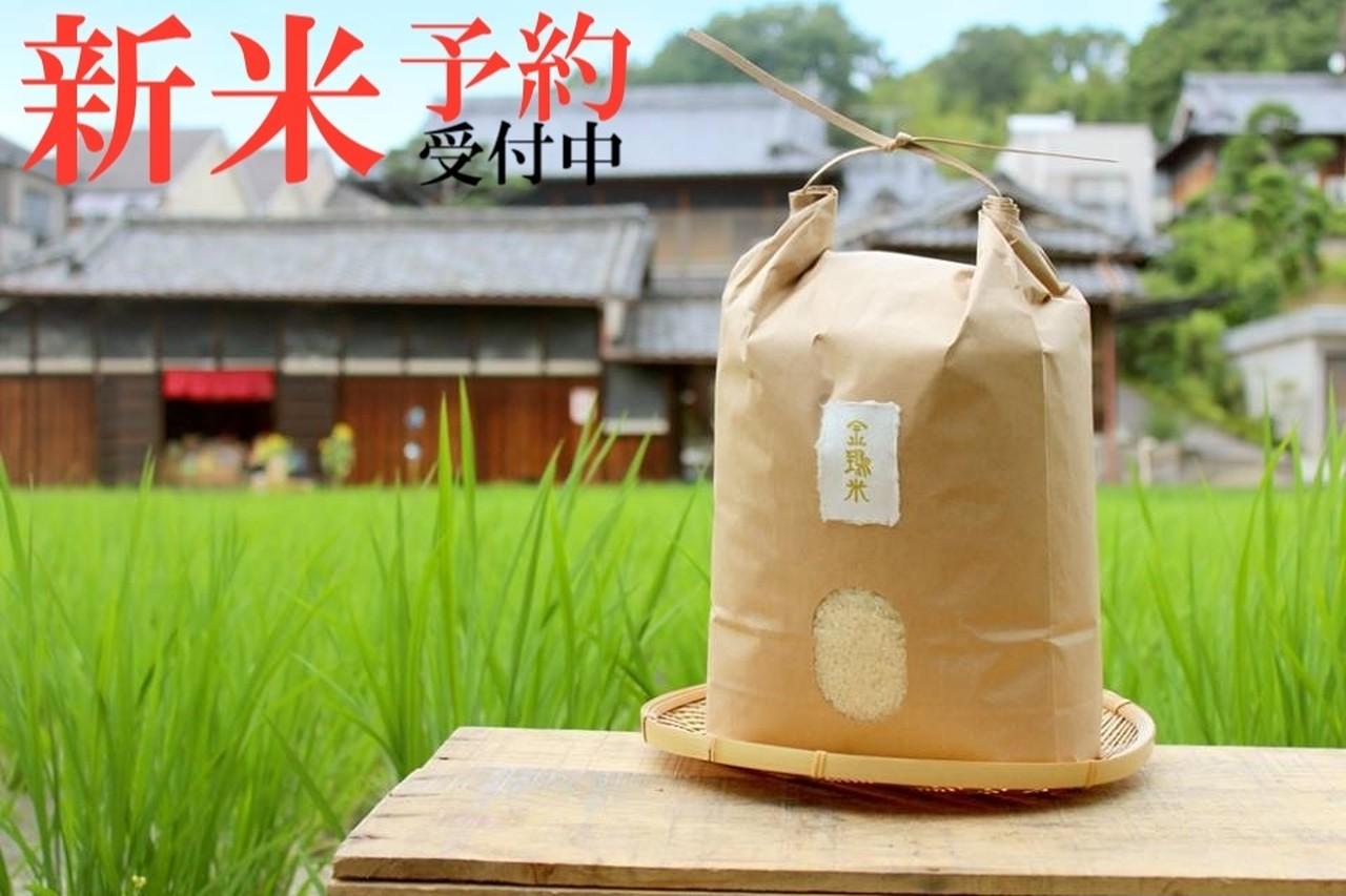 新米予約【金鵄米/5分づき/3kg】きんしまい2021年産ヒノヒカリ