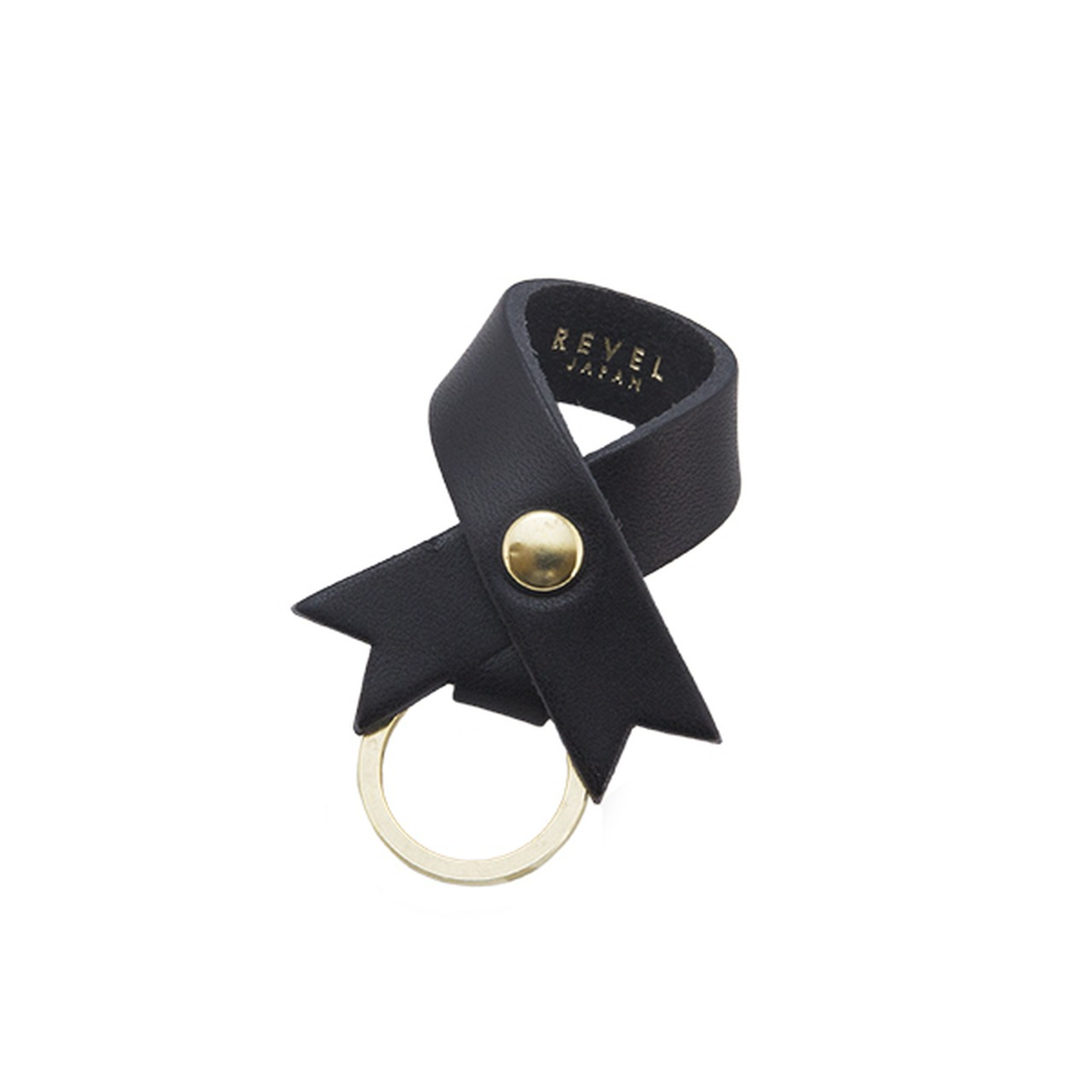 RIBBON KEYHOLDER BLACK [EST OIL]