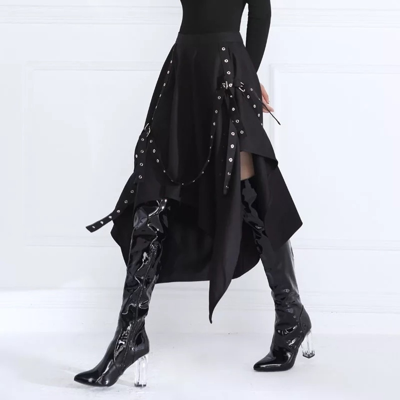 irregularity belt skirt