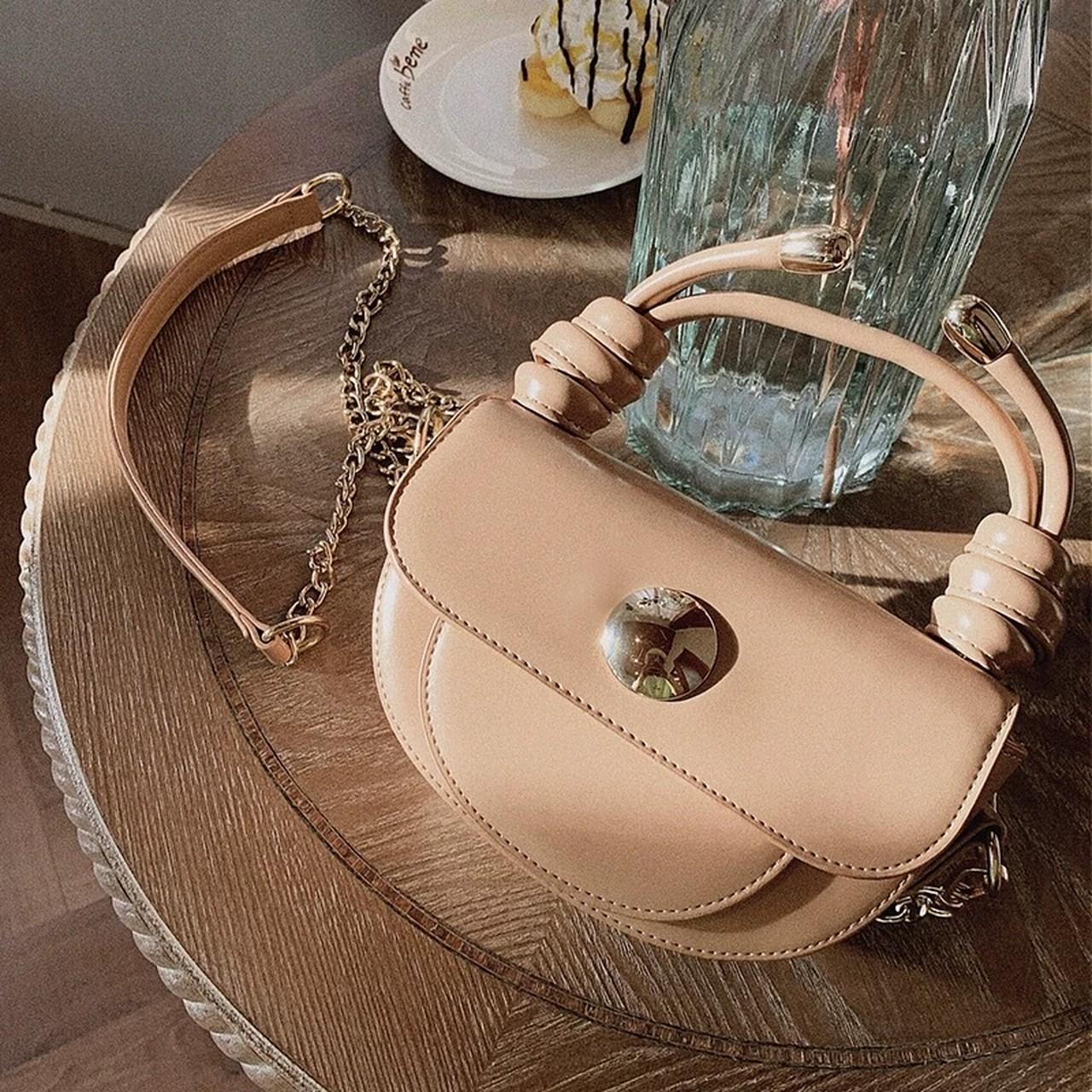 simple leather mini bag