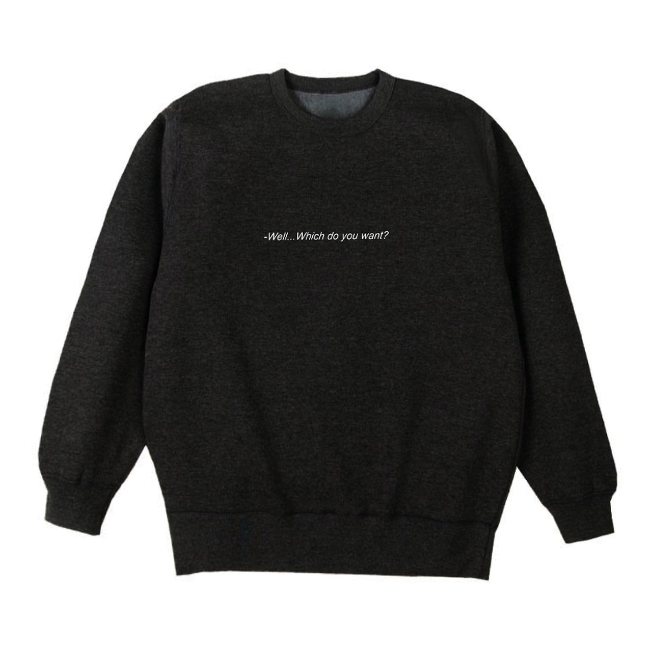 【Cat & Parfum】''Which one do you want?'' Heavy Cotton Sweat