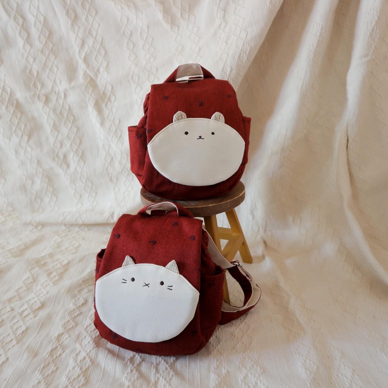 赤林檎のベビーリュック