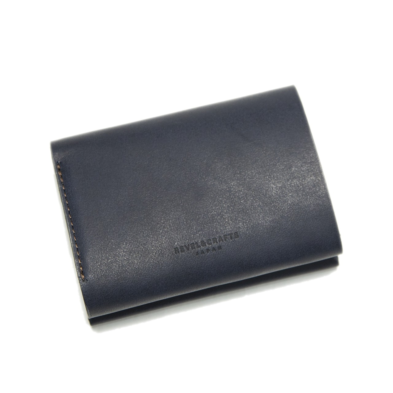[限定商品]2.5折コンパクト財布 - MINI 2 イタリアンネイビー