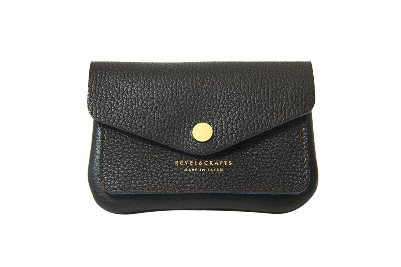 ポーチ型ミニ財布-POCHI 2 BLACK