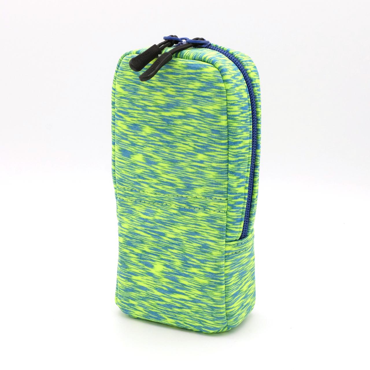 ペンケース タテモ 限定デザイン グリーンブルー PCS158S-160-GL