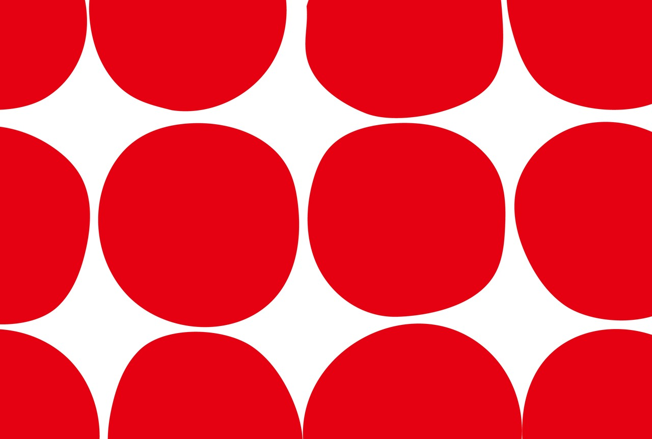 RED DOTS フード用耐油紙  10枚