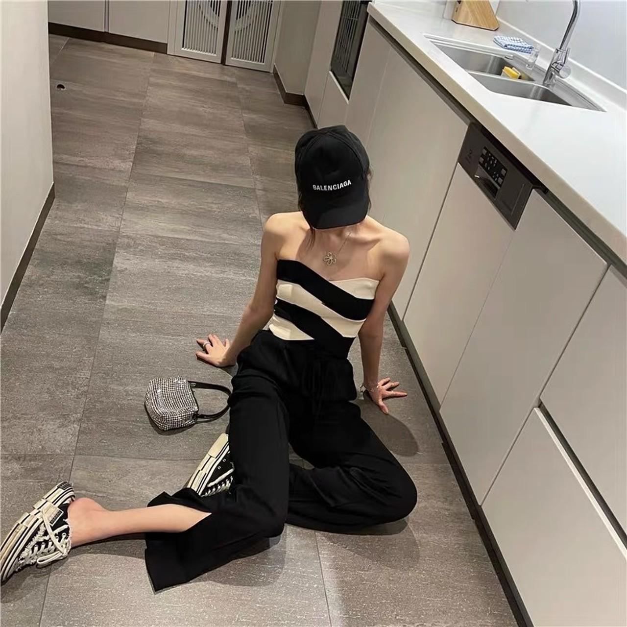 stylish design bare top