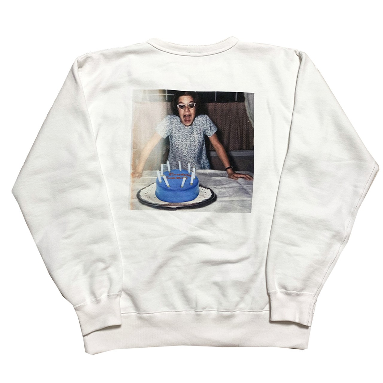 【Crudely Hommes】Girl with Cake Heavy Weight Sweat Tops