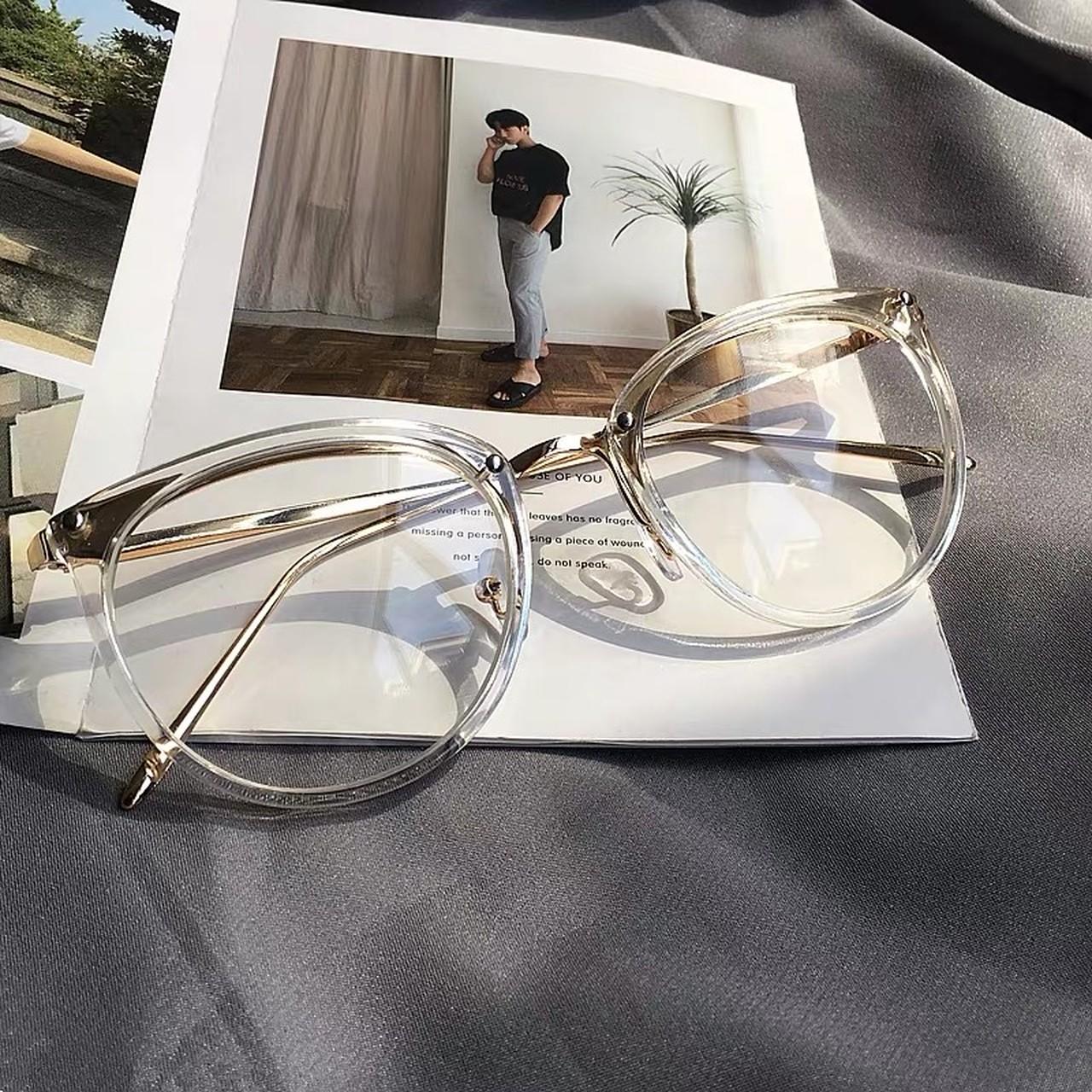clear moth glasses