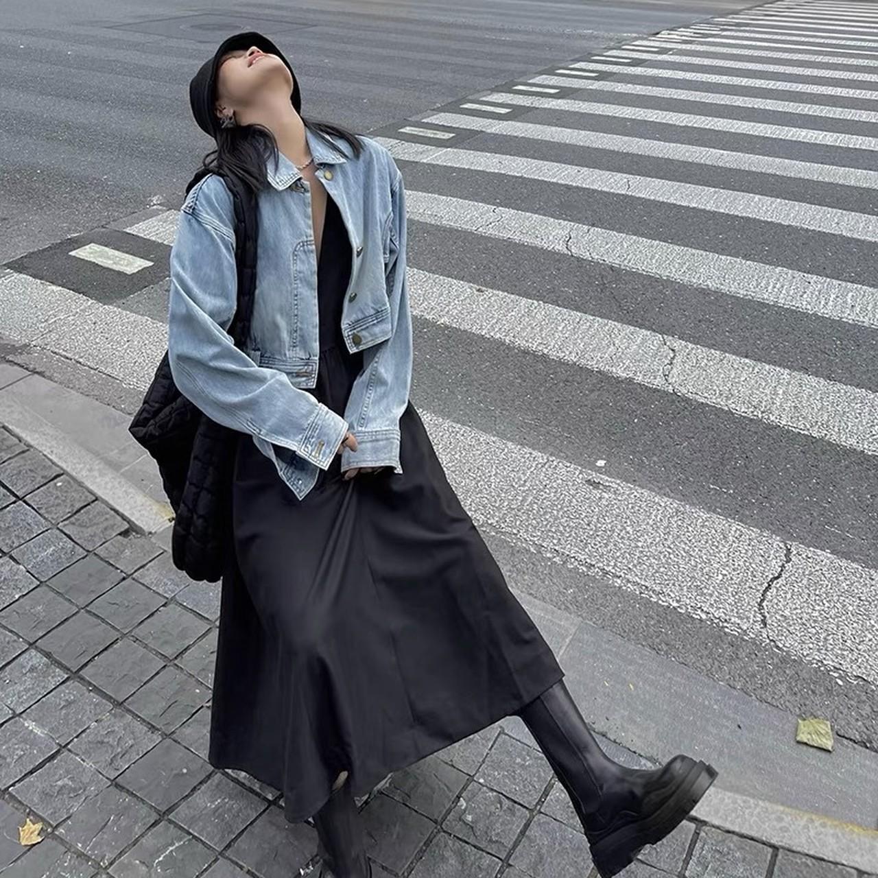 jeans design short jacket