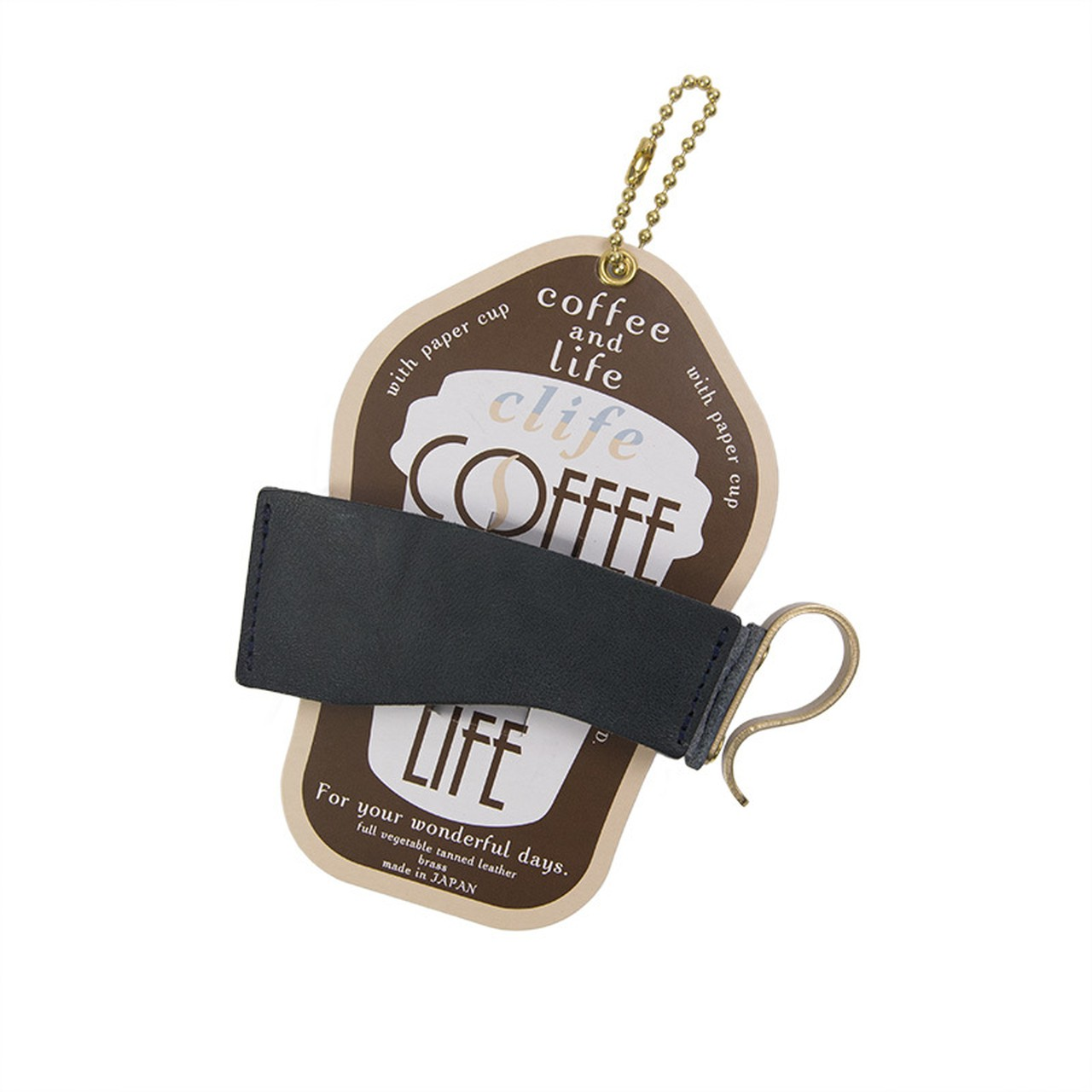 カップホルダー -Clife coffee and life NAVY-