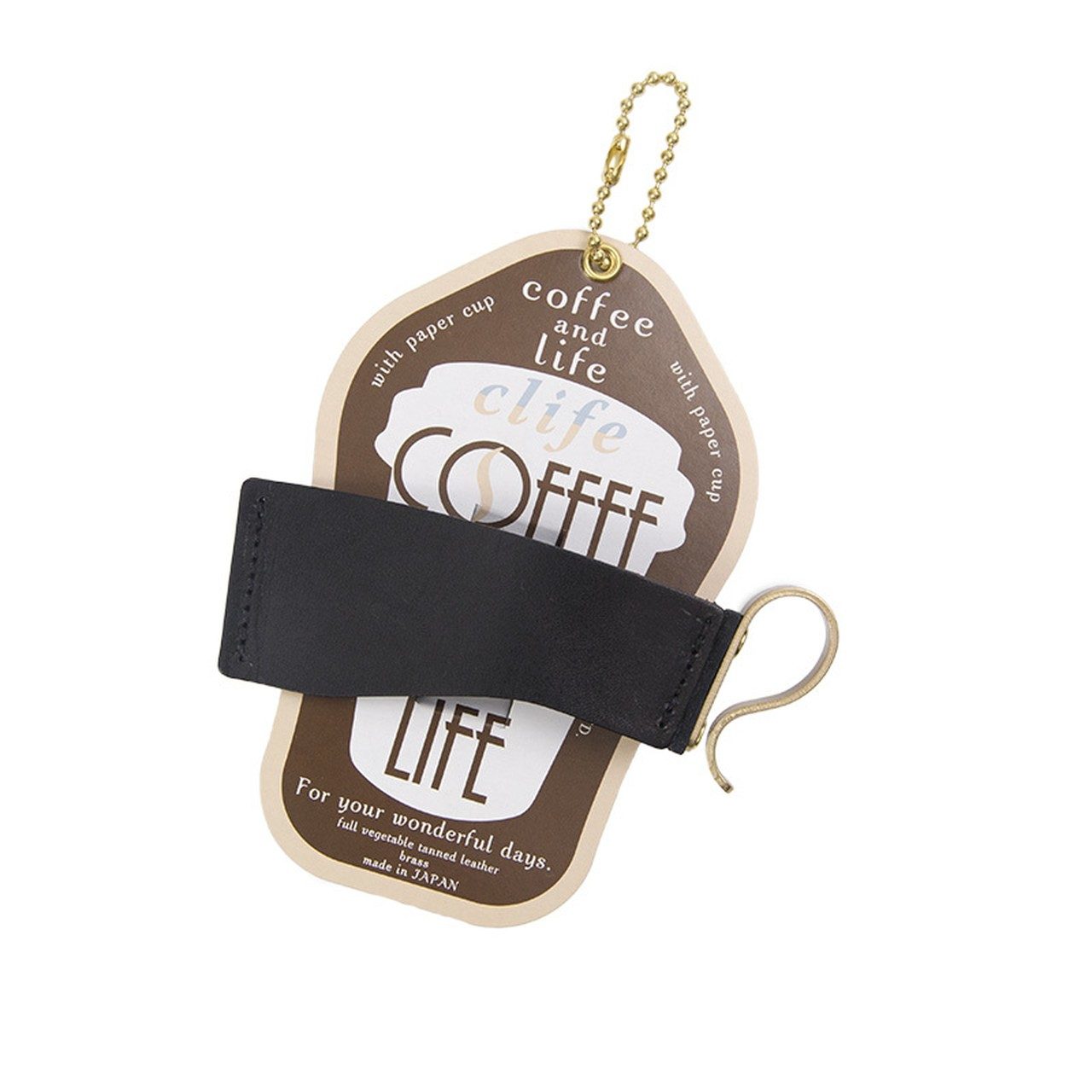 カップホルダー -Clife coffee and life BLACK-
